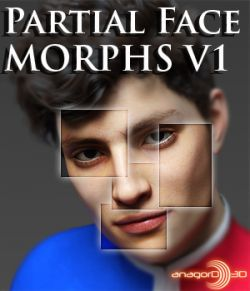 Partial Face Morphs G8M Vol 1