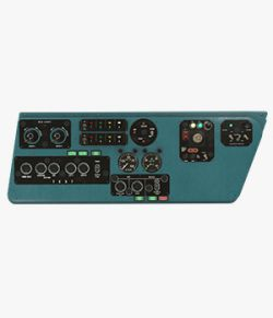 Mi-8MT Mi-17MT Left Side Console English  - Extended License