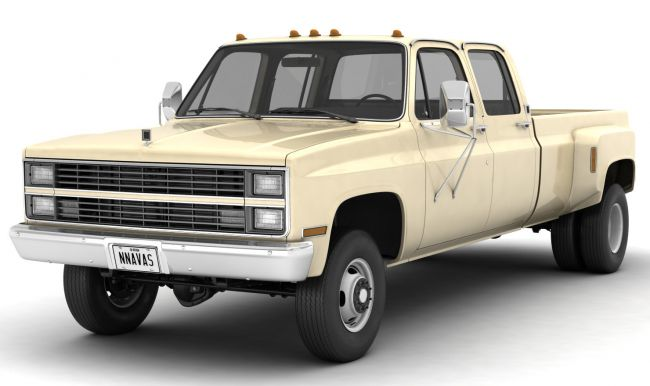 GENERIC 4WD DUALLY PICKUP TRUCK 6 - EXTENDED LICENSE