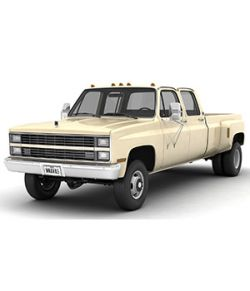 GENERIC 4WD DUALLY PICKUP TRUCK 6- EXTENDED LICENSE