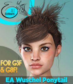 EA Wuschel Ponytail for Genesis 8 & 3 Females