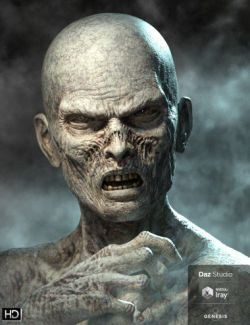 Ultimate Zombie HD for Genesis 8 Male