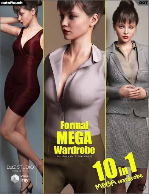 Formal MEGA Wardrobe for Genesis 8 Female(s)