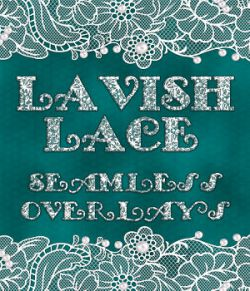 Lavish Lace Seamless Overlays with Bonus