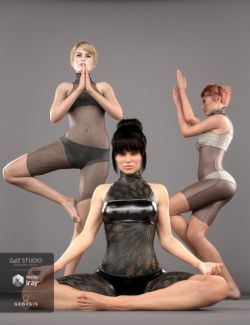 Namaste Poses for the Genesis 8 Female(s)