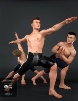 Namaste Poses for the Genesis 8 Male(s)