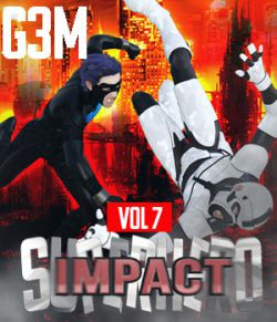 SuperHero Impact for G3M Volume 7
