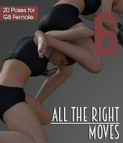 ALL THE RIGHT MOVES vol.6 for Genesis 8 Female