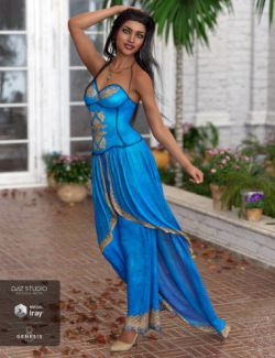dForce Raeni Outfit for Genesis 8 Female(s)