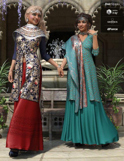 dForce Amara Outfit Textures