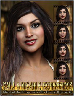 Mixable Expressions for Kala 8 and Genesis 8 Female(s)