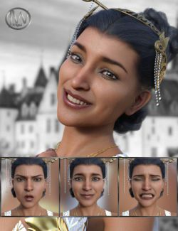 Like a Princess- Expressions for Genesis 8 Female and Kala 8