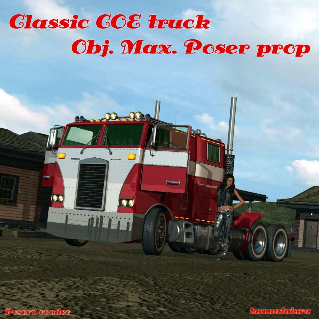 Classic COE Truck