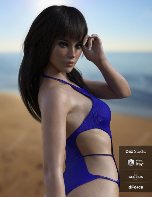 X-Fashion Babe Swimsuit for Genesis 8 Female(s)