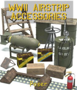 WWII Airstrip Accessories