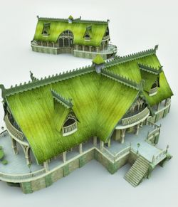 Elven Village Inn for Vue