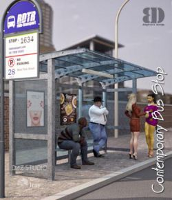 Contemporary Bus Stop