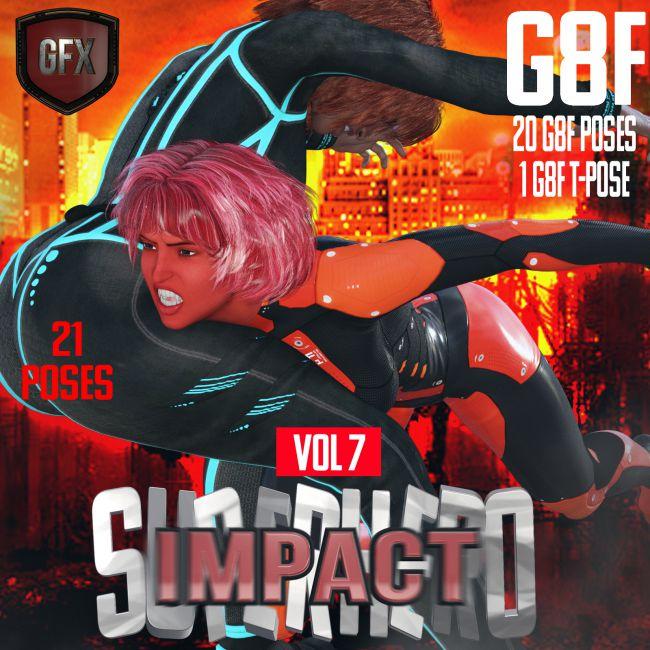 SuperHero Impact for G8F Volume 7