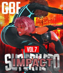SuperHero Impact for G8F Volume 7