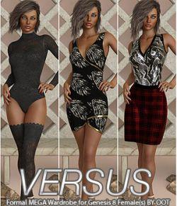 VERSUS- Formal MEGA Wardrobe for Genesis 8 Females