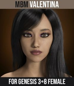 MbM Valentina for Genesis 3 & 8 Female