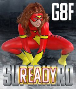 SuperHero Ready for G8F Volume 1