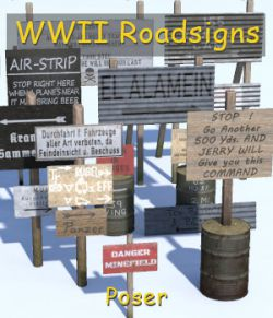 WWII Roadsigns