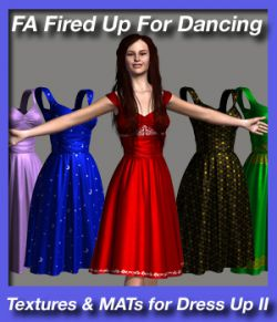 Fired Up For Dancing - textures and MAT poses for Dress Up II