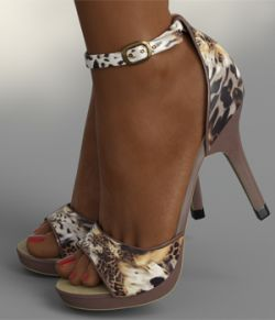 InStyle- Lysithea Shoes- for Genesis 8 and Victoria 8
