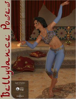 Bellydance Poses for Genesis 8 Female