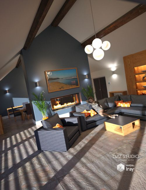 Modern Barn Conversion Interior