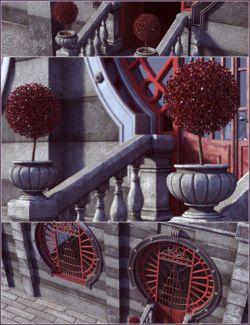 Rouge Deco Vignette
