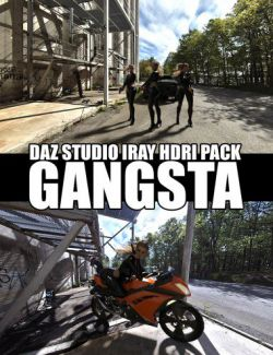 Gangsta- DAZ Studio Iray HDRI Pack