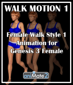 Walk Motion 1 for G3F