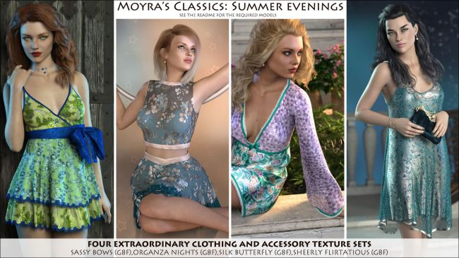 Moyra's Classics: Summer Evenings
