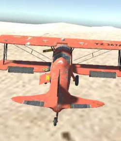 Biplane Aircraft - Extended License