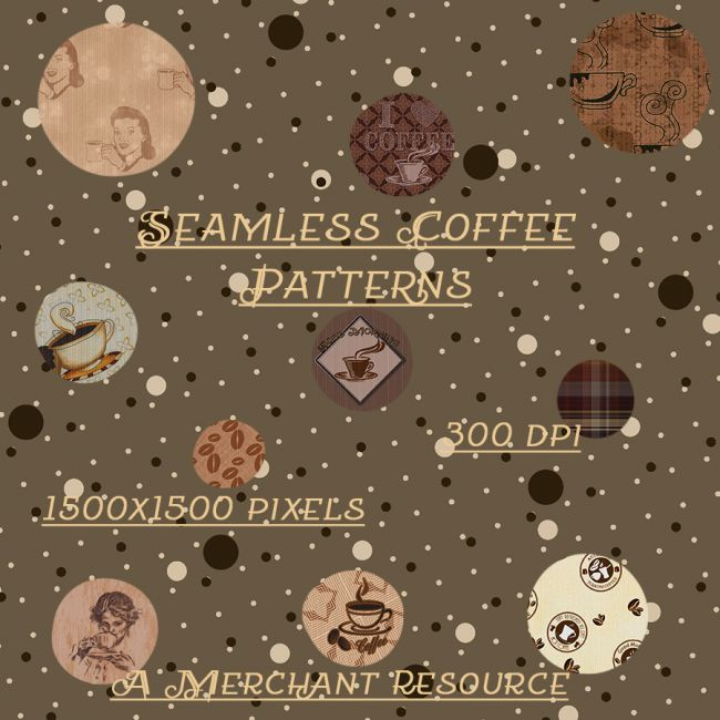 Seamless Coffee Patterns