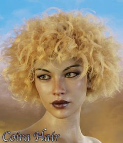 Coira Hair for G3/G8 Daz