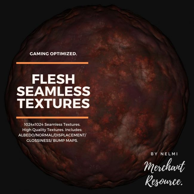 Flesh Seamless Textures - Merchant Resource