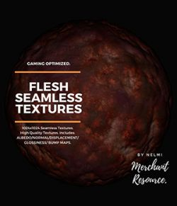 Flesh Seamless Textures- Merchant Resource