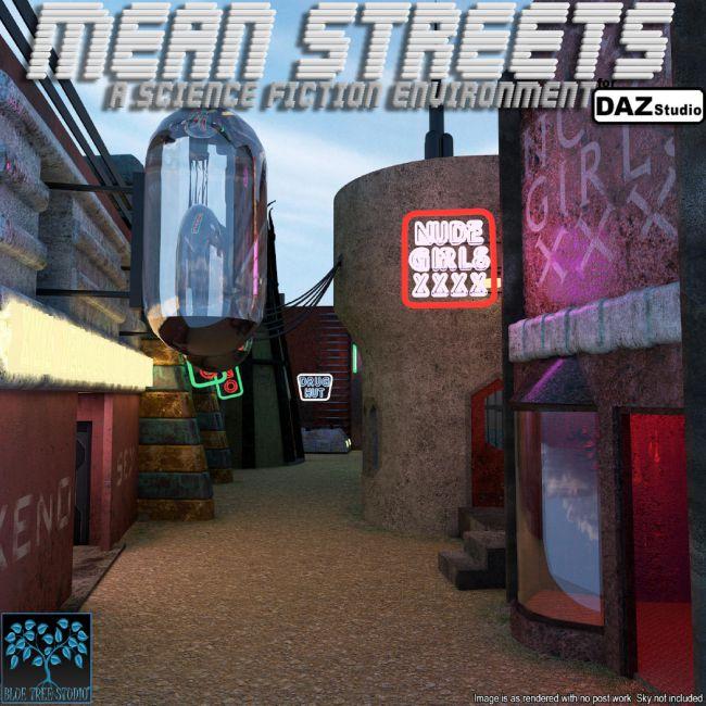 Mean Streets for Daz Studio