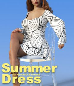 dForce and standard conforming Summer Dress for G8F