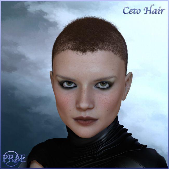 Prae-Ceto Hair For V4 M4 and La Femme
