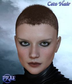 Prae-Ceto Hair For V4 M4 and La Femme