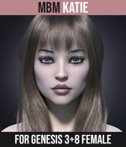 MbM Katie for Genesis 3 and 8 Female