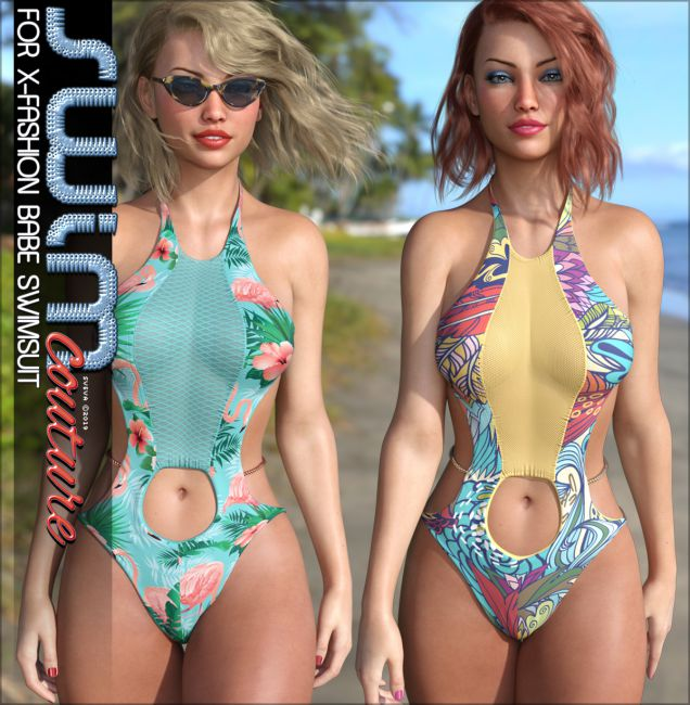 SWIM Couture for X-Fashion Babe Swimsuit