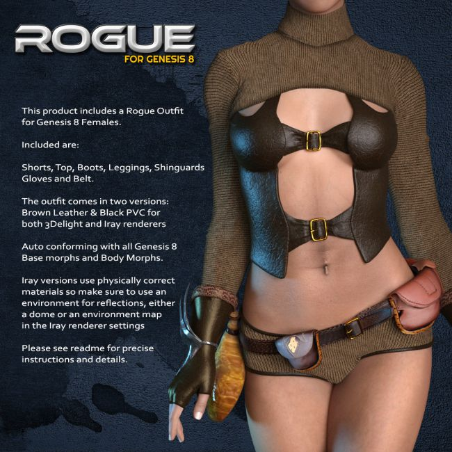 Exnem Rogue Outfit for G8
