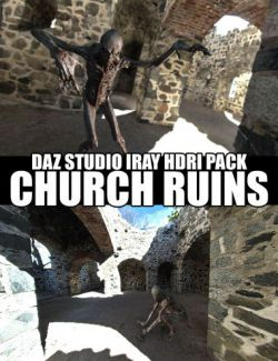 Church Ruins - DAZ Studio Iray HDRI Pack