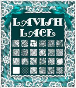 Lavish Lace Sheer PS Layer Styles