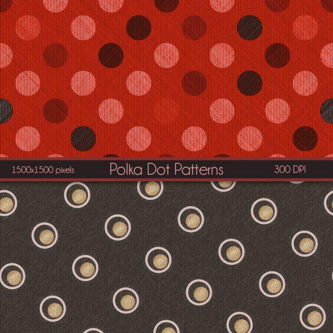 Seamless PolkaDot Patterns